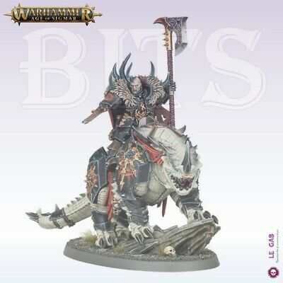 Bits Slaves To Darkness Chaos Lord On Karkadrak Warhammer Aos