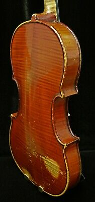 Fine OLD Antique VIOLIN, Labelled Gennaro De LUCCIA 1929-LISTEN TO VIDEO!