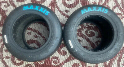 Maxxis Go-Kart Racing Tires FULL SET OF HT-3 PINK and BLUE