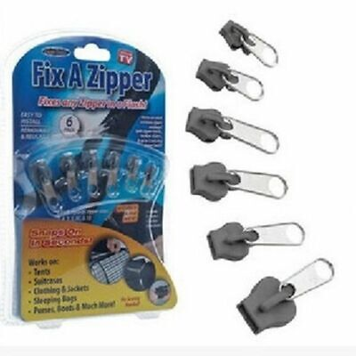 Clothes Instant Fix Zipper Repair Kit Zip Slider Teeth Rescue Zippers For Sewing