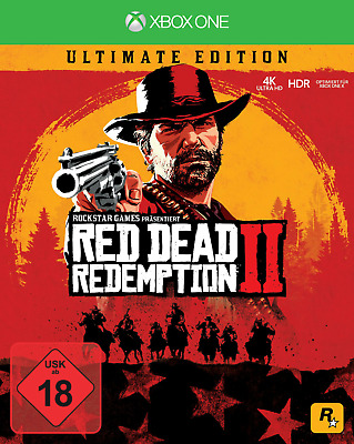 Red Dead Redemption 2 (Ultimate Edition) [Xbox One] Neu und OVP