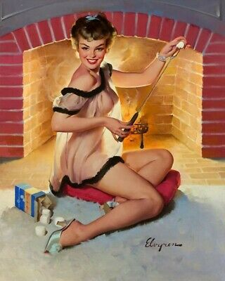 Gil Elvgren 8X10 Pin Up Girl Art Print 28012006738