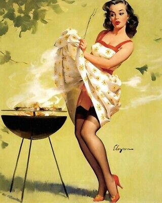 Gil Elvgren 8X10 Pin Up Girl Art Print 28012006660
