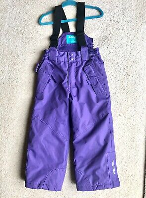 girls waterproof Ski trousers/Salopettes Age 2-3, Mountain Warehouse, Ex.cond.