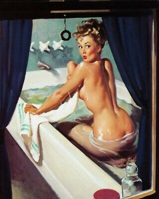 Gil Elvgren 8X10 Pin Up Girl Art Print 28012006678