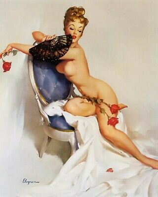 Gil Elvgren 8X10 Pin Up Girl Art Print 28012006633
