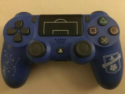 GENUINE OFFICIAL Sony PlayStation 4 Controller V2 Blue-BOXED-Champions League