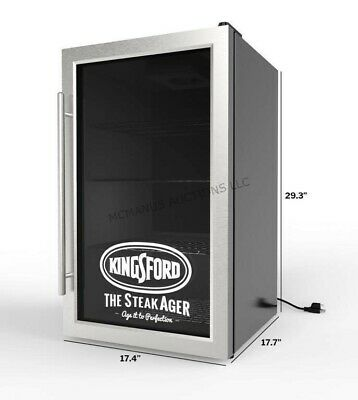 2019 Master Series  45   Kingsford Steakager  Dry Steak Aging