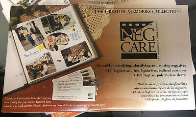 Creative memories Neg care envelopes And Sleeves