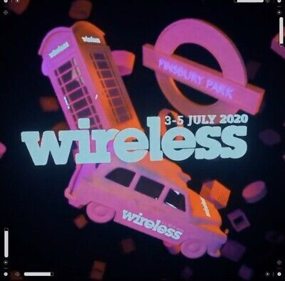 Wireless Fest Festival Ticket 2020 Friday Single Day X 12
