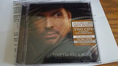 The Ultimate Hits by Garth Brooks (CD, Sep-2016, 2 Discs, Pearl)