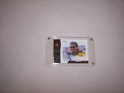 Nascar  - Chad Little -  1999 Sign Of The Times  - Autographed Card