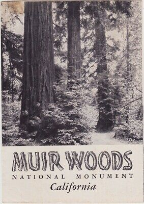 1951 Muir Woods National Monument Brochure