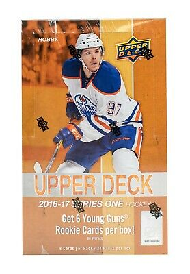 16-17 Upper Deck Series One Hockey Card Common Base #1-#200 U-Pick From List