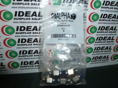 Alpha Technlogy 870000402 Connector New In Box