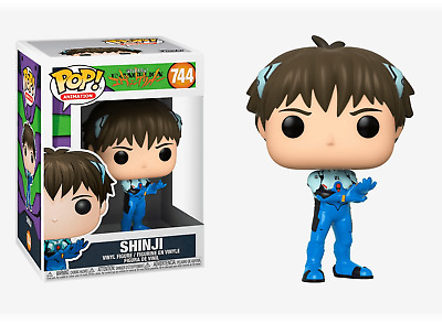 Multicolor Funko Pop Animation Evangelion-Shinji Ikari Neon Genesis Collectible Toy 45118