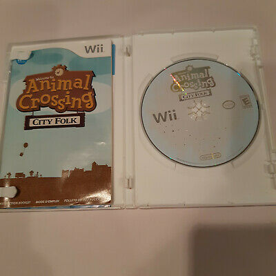 Animal Crossing City Folk Nintendo Wii Complete NM Wii, Video Games