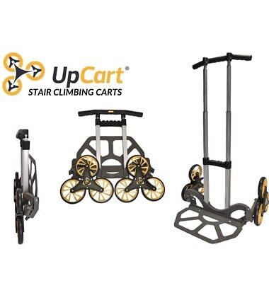 Upcart Lift 200lb Capacity Stair Climbing Folding Hand Truck Dolly Cart