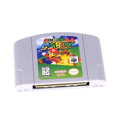 For Nintendo 64 N64 Super Mario 64 Video Game Cartridge Only Ship from New York