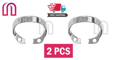 2 pc Rubber Dam Clamp Brinker B4 for Upper Molar Jaw Incisors and Canines Dental
