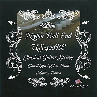ARIA Aria Classic Guitar Ball-End String Made in USA US-400BE From Japan