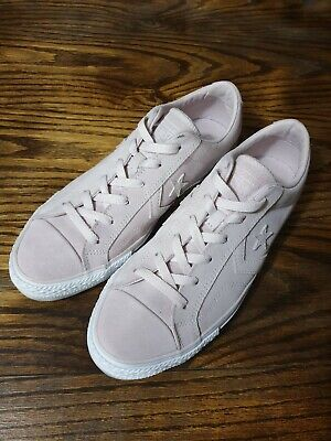 Converse One Star Dusty Pink Suede Leather Sneakers Size US Womens 10 Mens 8