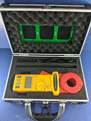 Fluke 1630 Earth Ground Clamp Meter, Excellent, Case, More