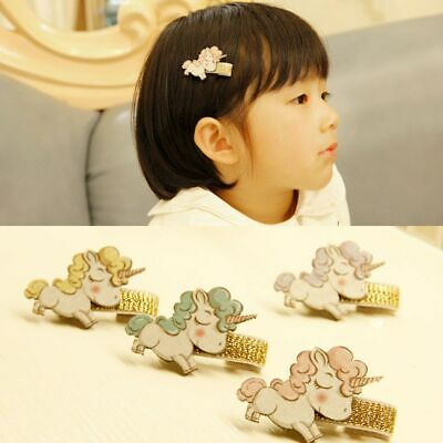 Accessories Children Hairgrip Baby Girl Hairpins Unicorn Headwear Hair Clips