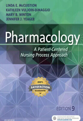 Pharmacology : A Patient-Centered Nursing Process Approach 9th Ed.PDF