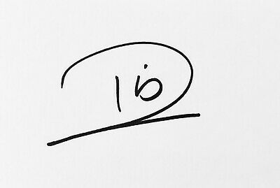 Rio Ferdinand HAND SIGNED White Card MANCHESTER UNITED LEEDS *In Person* COA