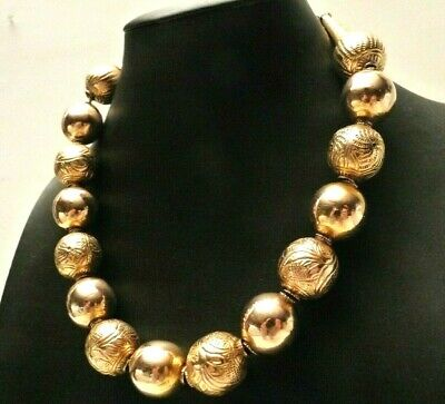 Necklace Antique Popular Traditional Italian Gold Solid 9K Fine '800