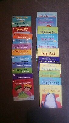 childrens books bundle - collect Liverpool - Usbourne phonics and Topsy and Tim