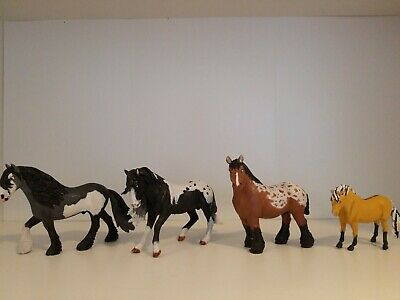 4 Custom Schleich and CollectA