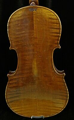 4/4 Full size Antique OLD Germany HOPF Violin-LISTEN TO THE VIDEO-