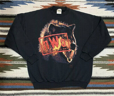 Vintage 90's NWO New World Order Wrestling Sweatshirt (XL)