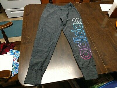 Adidas Gray Jogger Leggings Size Girl's 16