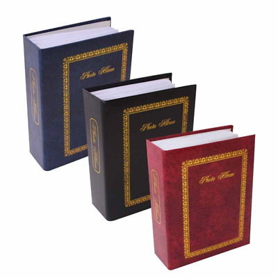Tallon 1124 - 6x4 in Plain Photo Album with 100 Pockets Assorted Colors Memories