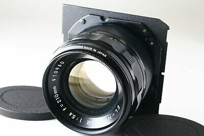 [Rare! Exc] Nikon EL-NIKKOR 210mm f/5.6 Enlarging Lens w/ Caps From JAPAN 6173