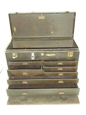Kennedy Kits Model 520 Machinist Tool Box 7-Drawers Really Nice Piece @LOOK@