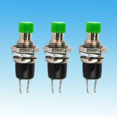 10Stk Red Mini Lockless Momentary ON//OFF Push button Switch-W