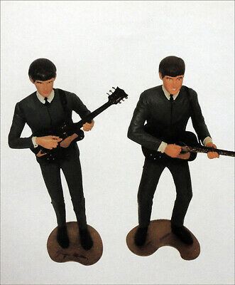 The Beatles Poster Page . 1964 Revell Figurines George Harrison John Lennon Bd50