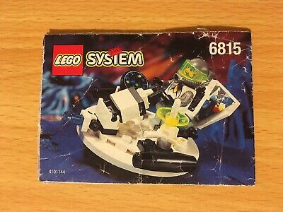 Lego Space 6815 Hovertron - Instruction Manual Only