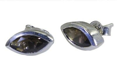 ideal Smoky Quartz 925 Sterling Silver Brown Natural supply CA gift