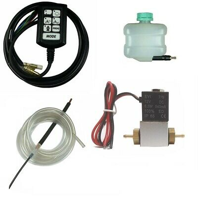 Electronic Motorcycle Chain Oiler Lubricating System Kit Injector Scottoiler
