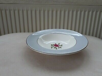 Royal Doulton China Chateau Rose. Rimmed Soup Bowls. 20.5Cms. H4940. 8 Available