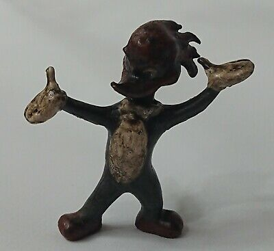 Austrian Style Vintage Woody Woodpecker Cold Painted Miniature Bronze