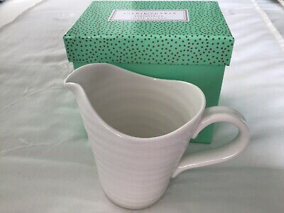 Sophie Conran For Portmeirion  0.5 pint White Pitcher / Jug New