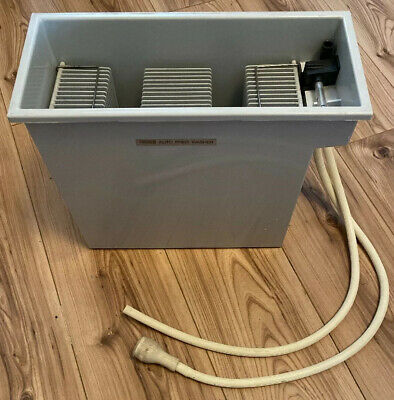 "Vintage Paterson Auto Print Washer 10 x 12"" Size Darkroom Developing Photography"