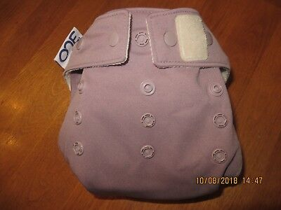 GROVIA O.N.E. AIO Cloth DIAPER ~ HAZE ~ EUC! LOOK! (#47)