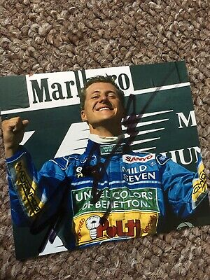 Michael Schumacher Hand Signed Autograph Photo (SERIOUS OFFERS CONSIDERED)
